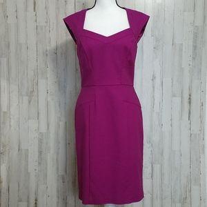 WHBM Magenta Sleeveless Dress